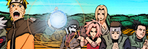 Naruto Shippuden Banner by jutto