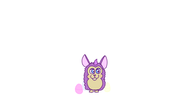 EASTER FURBY PAGEDOLL by NewHayden98081