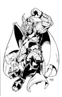 The Mighty Thor Inks by sketchheavy