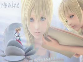 kingdom hearts 2  namine by LumenArtist