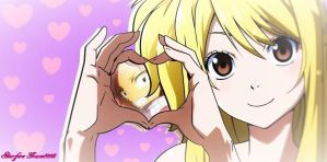 Lucy Heartfilia_loves_Natsu Dragneel_Fairy Tail by StarfireGrace1998
