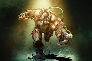 Bane by Greg Capullo and Frank Arvizu colored by Dany-Morales