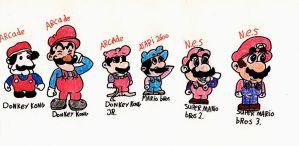 Mario Evolves 01 by NintendoHero