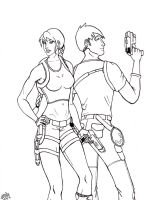 Lara, Kurtis by when-i-caught-myself