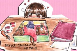 Day 05: Childhood Memory by Mikoto-chan