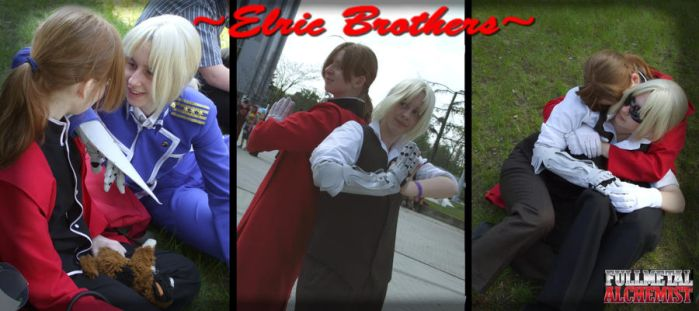 SakuraCon 2010- Elric Brothers by timko77