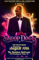 Snoop Dogg Flyer by DeWeirdo