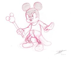 Mickey and his Scepter by DisneyFan-01