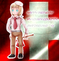 Happy birthday my country ~ XD by AquaPatamon