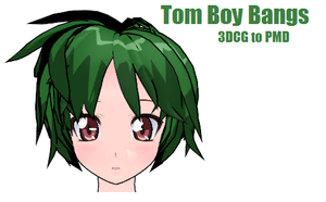 MMD- Tom Boy Bangs.2 -DOWNLOAD by MMDFakewings18