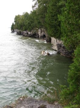 Cave Point Park - Door County, Wisconsin by redetzke