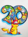 Happy 20th Anniversary! by Silver-Artemis-Moon