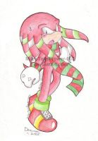 Festive Knuckles by MilesTailsPrower-007