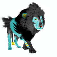 Real Life Luxray by InfinityFangX