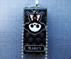 Marcy skelanimal necklace by AngelElementsEtsy