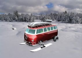 VW bus. by fusecore