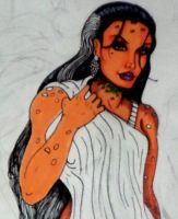 Grendel's Mother color sketch by Medusa1893
