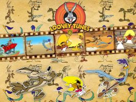 Looney Tunes - Wallpaper by Howie62