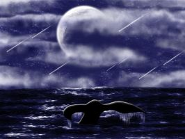A Whale's Moonlight Tale by Misaki-chi