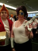 second day at Sac-awesome Futurama cosplayers by ArthurJones93