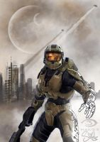 Master Chief by shilohs