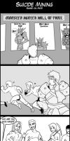 Monster Hunter Comic Suicide Mining by macawnivore