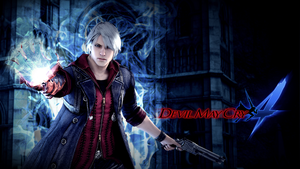 Devil May Cry 4 Wallpaper - Nero (1920x1080) by Fehru