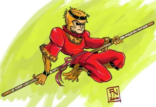 Monkey King by ujangzero