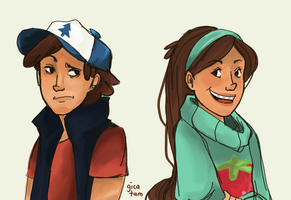 The Mystery Twins at your service by rhieme