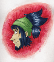 Watercolored Rocen by FoolishCaptainKia