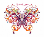 Floral Butterfly by bast4cats