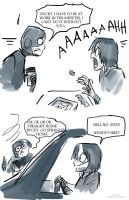 Bucky Helps Steve Get to Work by Tavoriel