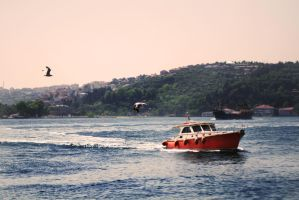 Bosphorus strait by mancaalberto