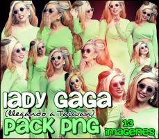 Lady Gaga en Taiwan Pack 13 png by bloodyyani