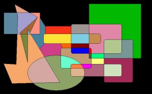Shapes of Colours 5 by GreenSkullplz