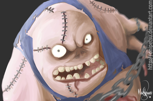 Pudge Speed Painting by onipetsu