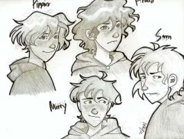 well master hobbits! by nudge-edge