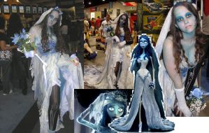 Corpse Bride Collage ME by SilverTallest
