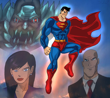Superman Homage by Wessel