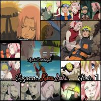 Narusaku moments part 1 by XXAsukaHatakeXX