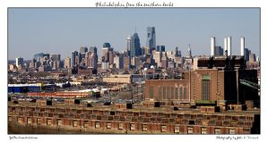 Philadelphia from the southern by yellowcaseartist