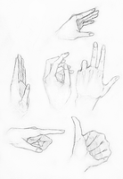Hand study by rivaste