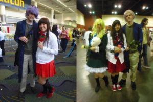 Megacon '13: Ib, Garry, and Mary by NaturesRose