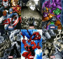 Marvel Heroes and Villains 18 by RichardCox
