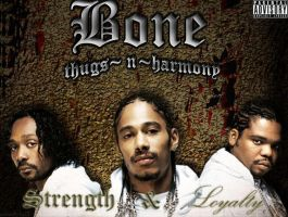 Bone Thugs-n-Harmony CD Cover by julius89