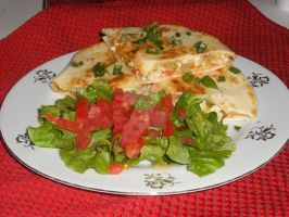 Chicken Quesadilla by AestheticallyCraved