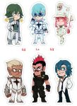 Kill La Kill Sticker set #2 by Shilloshilloh