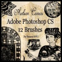 .: Arabian Cameos Brushes :. by Emane1983