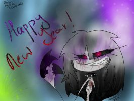HAPPY NEW YEAR by The-Clawed-Shadow