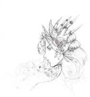 Lineart Oberon n.n by driany